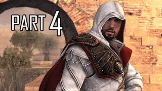 Assassin's Creed Brotherhood Walkthrough Part 4 - Lair of Romulus (ACB Let's Play Commentary)