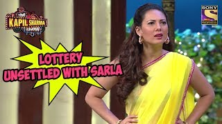 Lottery Unsettled With Sarla - The Kapil Sharma Show