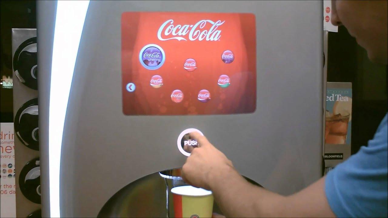Coke Drink Machine Coke Machine Secret Menu