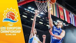 Ukraine v Israel - Full Game - FIBA U20 European Championship 2019
