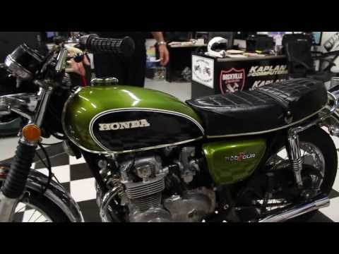 1973 Honda CB500 FOUR Green