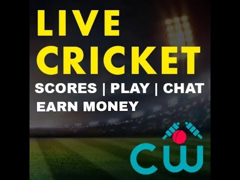 Live cricket scores watching  and earn money online  new app 2018