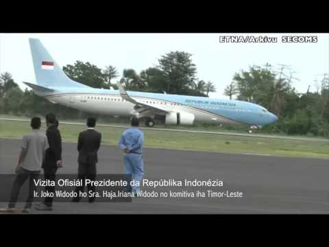 President of Indonesia arrival, H.E. Joko Widodo & First Lady