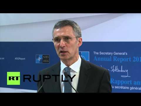 Belgium: 'Russia is becoming more assertive' - Stoltenberg