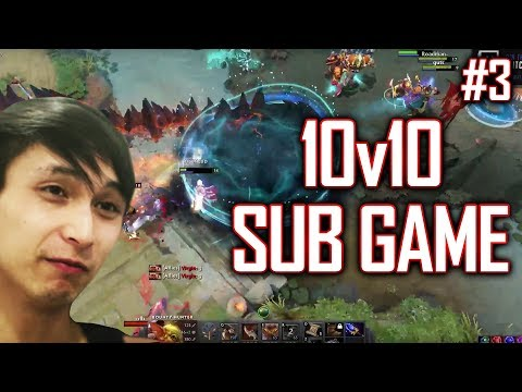 10v10 Sub Game #3 - SingSing Dota 2 Highlights