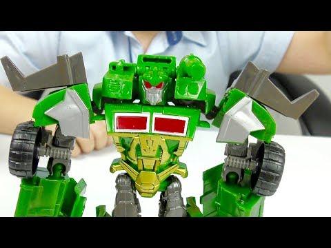 Трансформеры Автоботы Мультик из Игрушек для детей Гримлок Оптимус и Машинки для мальчиков