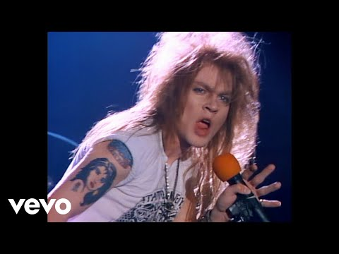 Guns N' Roses - Welcome To The Jungle Video