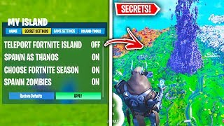 Top 10 Hidden Fortnite Creative Mode Secrets You Need To Know About