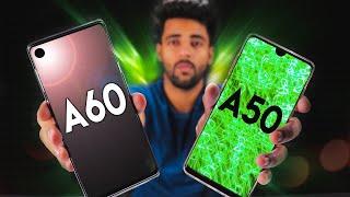 Samsung A60 vs Samsung A50🔥 - Kon hai Don ?