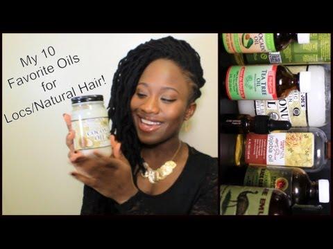 Loc Maintenance   My Top 10 Favorite Oils For Locs/Natural Hair!   JASMINE ROSE