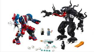 Spider-Man and Venom mechs Revealed