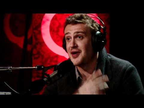 Muppet revivalist Jason Segel in Studio Q