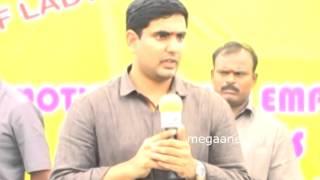 Nara Lokesh speech on  Brahmani