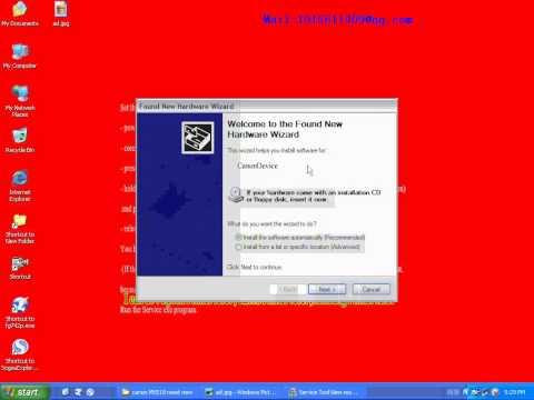 canon MX518 reset Waste ink 5B00 MX515/MX516/MX517/MX518 reset