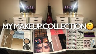 HUGE Makeup Collection Of A 15 Year Old