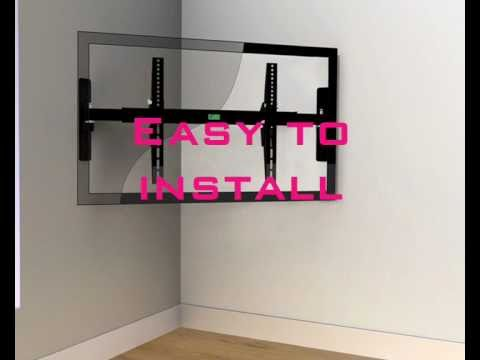how to put tv on plasterboard wall