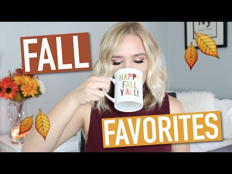 THE FALL FAVORITES TAG (BEAUTY, FASHION, LIFESTYLE)