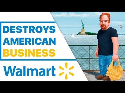 Louis CK - Walmart Destroys American Business