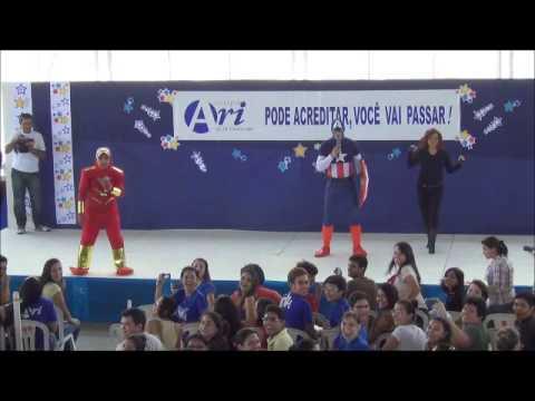 Ari de Sá - Aulão de Véspera 2012 - Vingadores DC
