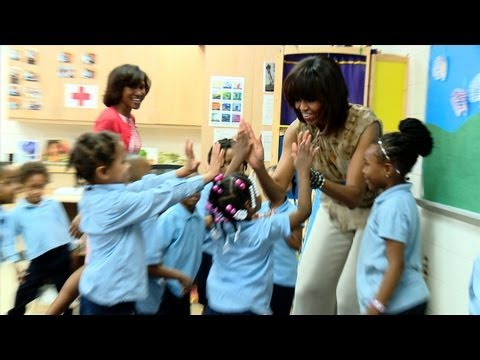 Raw Video: Freeze Dance with First Lady Michelle Obama