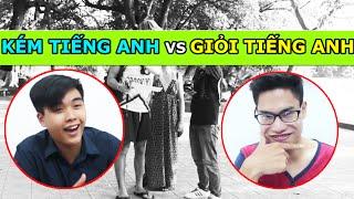 Sự khác biệt giữa người Giỏi Tiếng Anh và Kém Tiếng Anh