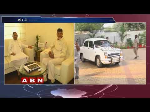 AP CM Chandrababu Meets LJD Leader Sharad Yadav In Delhi | ABN Telugu