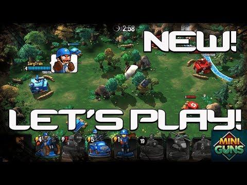 NEW GAME: How to play Mini Guns   Beginners Tutorial   Mini Guns