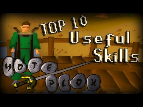 TOP 10 MOST USEFUL SKILLS IN OSRS