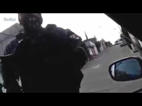 Sino te bajas te disparo, dice oficial a un ciudadano en Oaxaca