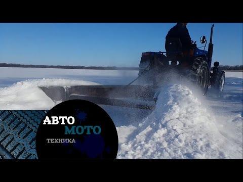 Бешеный китайский  минитрактор снегоуборщик / Сrazy minitractor snowthrower