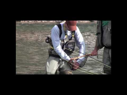 Opening weekend fly fishing on the Madison River