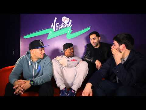 Rudimental -  will Bring the Vibe to V Festival 2014