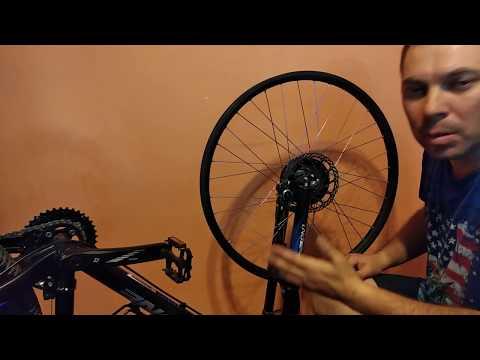 Установка мотор-колеса Велоракета 350 часть 2 напиллинг никто не отменял