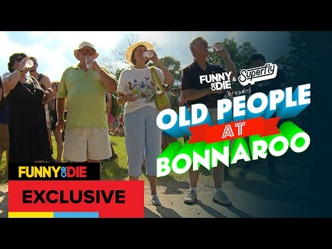 Old People at Bonnaroo