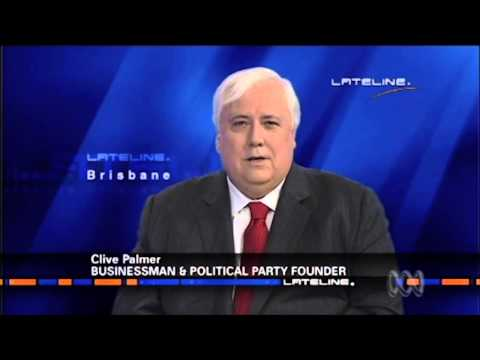 Clive Palmer Palmer United Lateline Interview