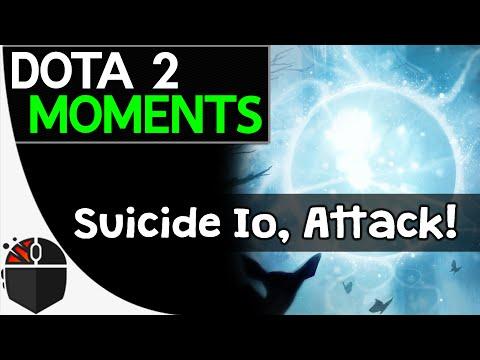 Dota 2 Moments  Suicide Io Attack