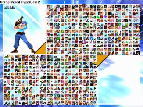 EvE mugen Roster 700+ Characters 300+ Stages