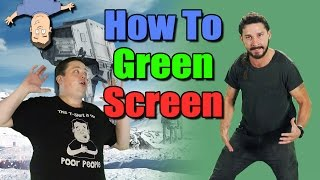 How to setup & use a green screen