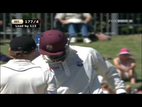 Chris Gayle 197 vs New Zealand 2nd test 2008/09