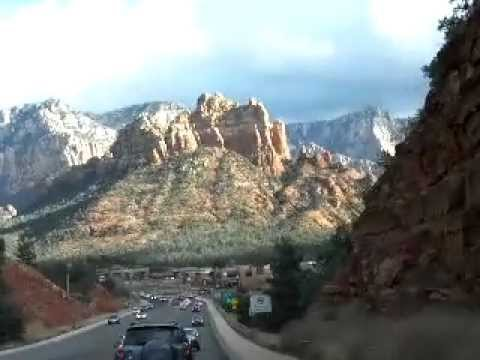 A drive through Sedona, AZ and up Oak Creek Canyon