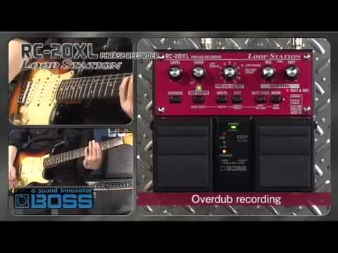 RC-20XL Loop Station [BOSS Sound Check]