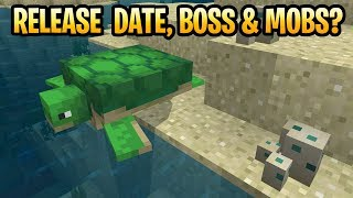 Minecraft Update Aquatic Top 5 Questions! Release Date, New Boss & Sharks PS4, PS3, Xbox 360 & Wii U