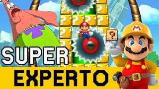 CREO QUE MI PACIENCIA EXPLOTÓ!!! - SUPER EXPERTO NO SKIP | Super Mario Maker - ZetaSSJ