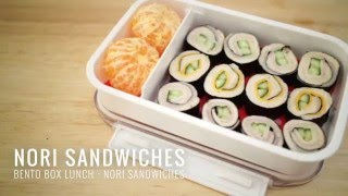 Bento Box Lunch - Nori Sandwiches