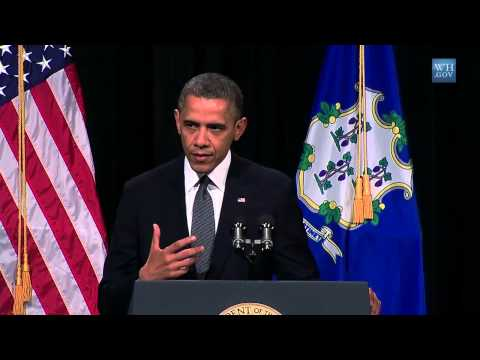 Obama Memorial service for victims - Sandy Hook massacre