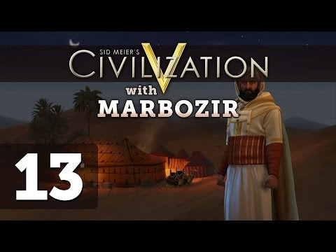 Civilization 5 Brave New World Deity Morocco Let's Play - Part 13