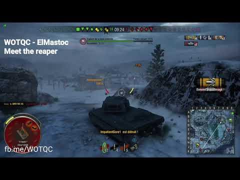 WOTQC - ElMastoc - World of Tanks Xbox - Meet the reaper