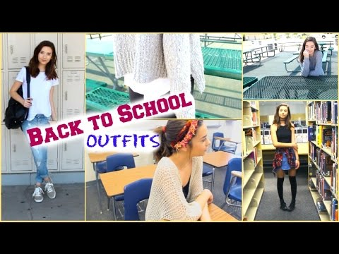 Back to School Outfit Ideas! ♡