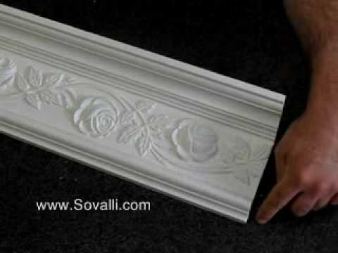 HPCV009 Sovalli Decorative Plaster Coving