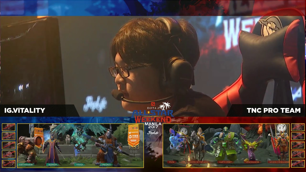 TNC.Pro Team vs I.G Vitality GrandFinals Game 3 BO3 Dota2 All Star Weekend